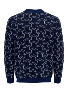 onspast high neck knit sl 4291 22014291 only & sons trui insignia blue