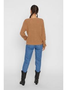 pckarie ls knit cardigan noos 17100685 pieces vest tannin