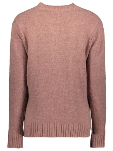 comfortabele trui met ajour detail 21001559 sandwich trui 20123