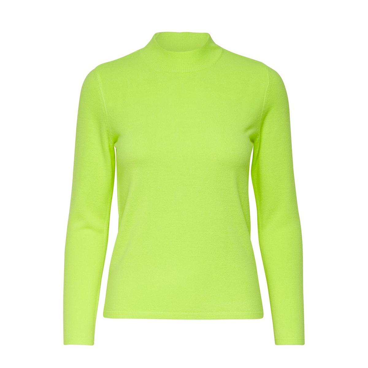 onlrose l/s highneck pullover cc kn 15191801 only trui limeade
