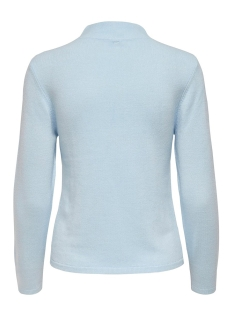 onlrose l/s highneck pullover cc kn 15191801 only trui cashmere blue
