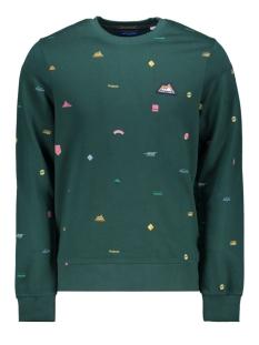 jorpatchy  sweat crew neck  france 12173498 jack & jones sweater sea moss/slim