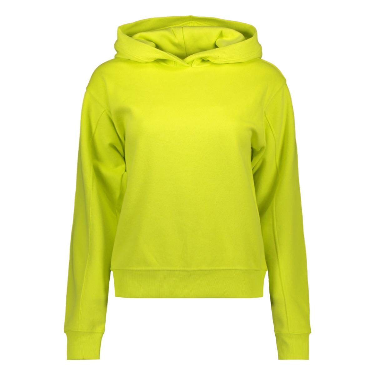 onlhilde l/s hood swt 15195619 only sweater limeade