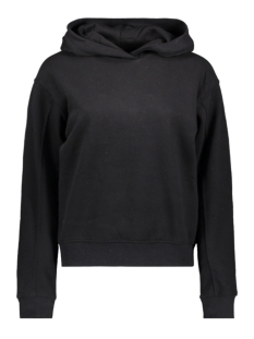 Only sweater ONLHILDE L/S HOOD SWT 15195619 Black