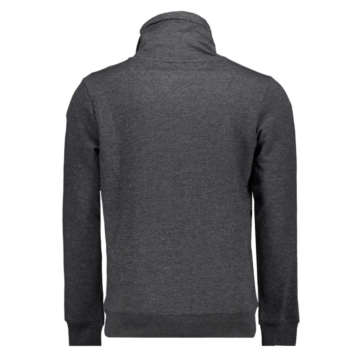 jcogen sweat hood 12162073 jack & jones sweater black/melange/jj
