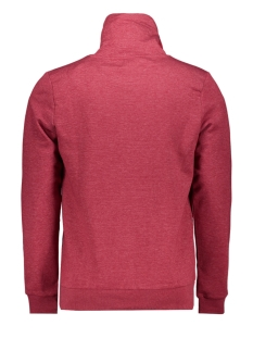 jcogen sweat hood 12162073 jack & jones sweater rio red/melange/jj
