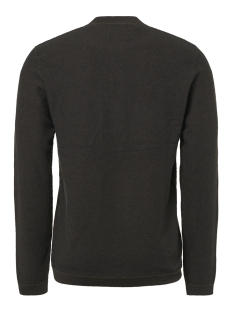 half zip jacquard pullover 92230810 no-excess trui 059 dk army