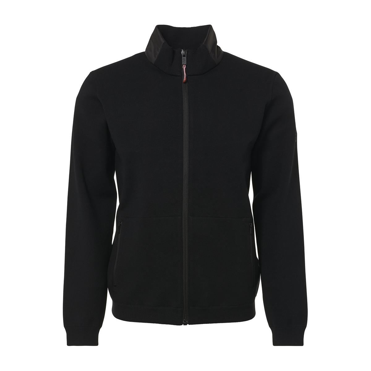 zip cardigan 92210933 no-excess vest 020 black