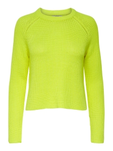 Only Trui ONLBREE L/S PULLOVER KNT 15195385 Limeade