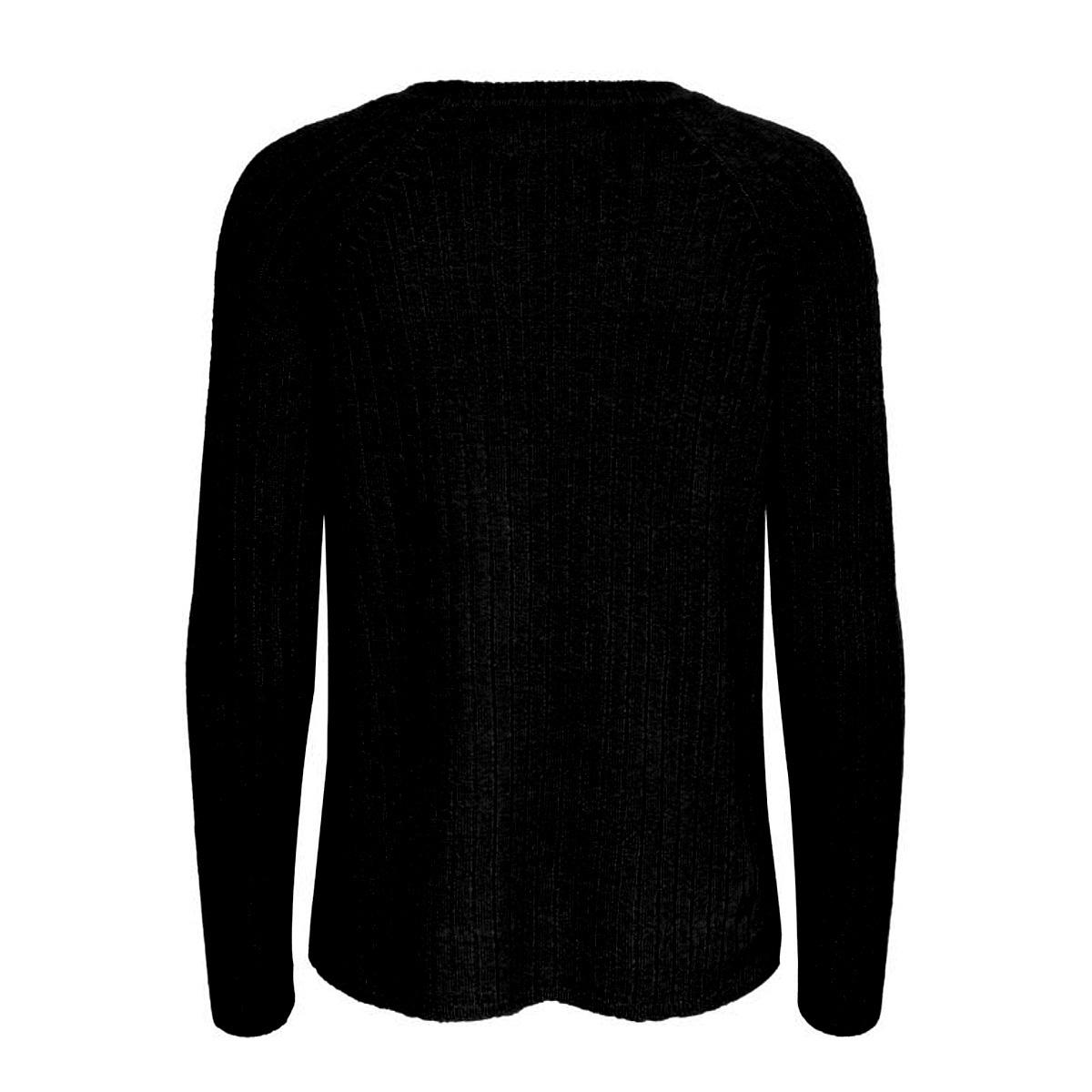 onlnadine l/s pullover knt 15192435 only trui black