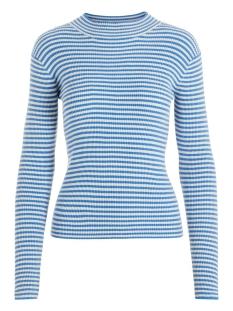 Pieces T-shirt PCJADE LS  T-NECK KNIT 17100162 Almond Milk/REGETTA