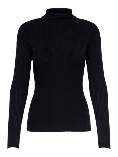 jdyluna two l/s rollneck pullover k 15204186 jacqueline de yong trui black