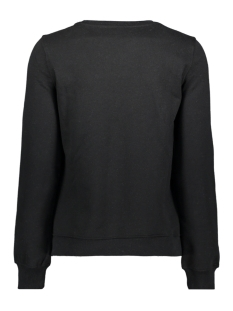 onlfran l/s o-neck animal swt 15203403 only sweater black/babe