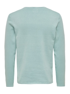 onsgarson 12  wash crew neck knit noos 22006806 only & sons trui aquifer