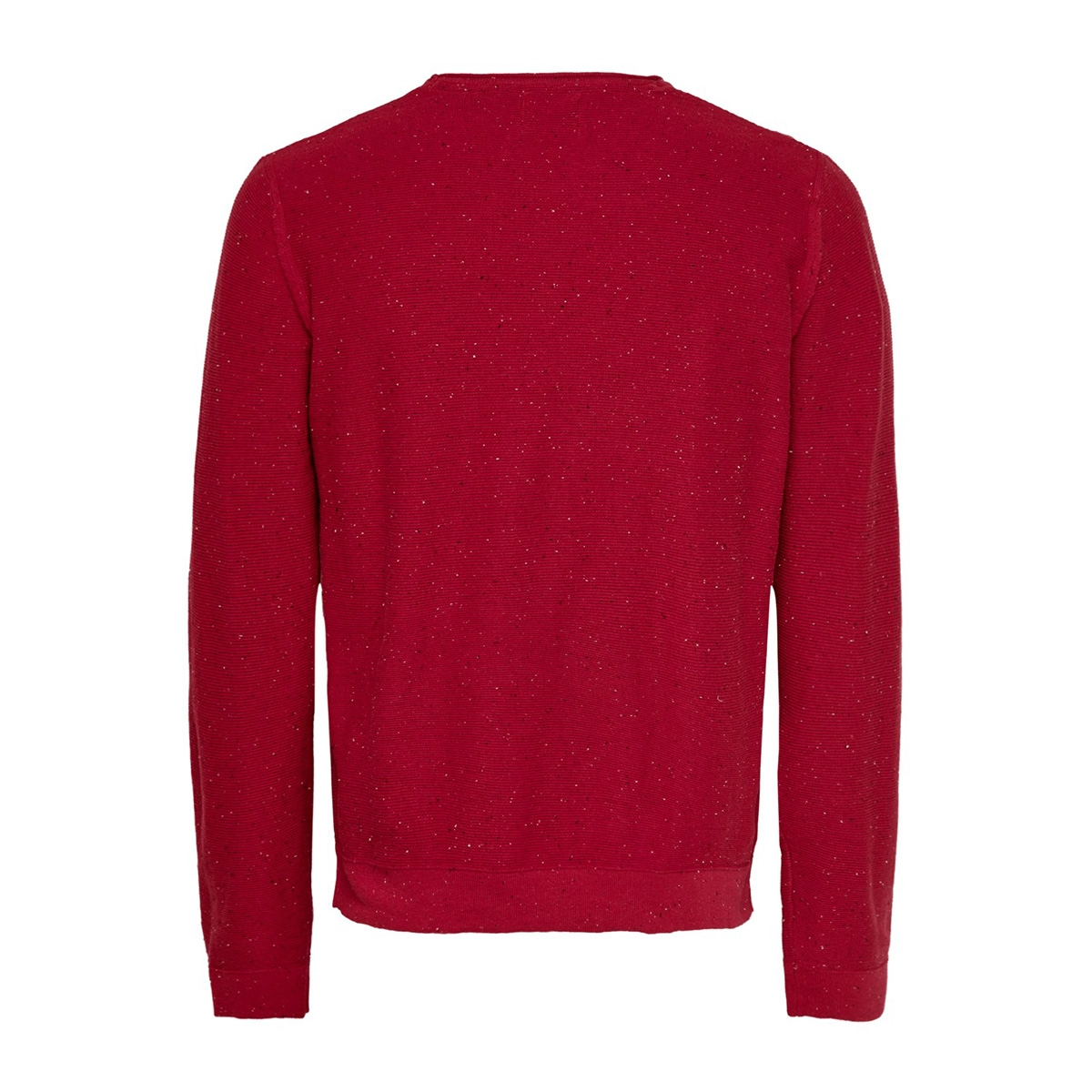 onsdian 12 naps crew neck knit 22014032 only & sons trui pompeian red