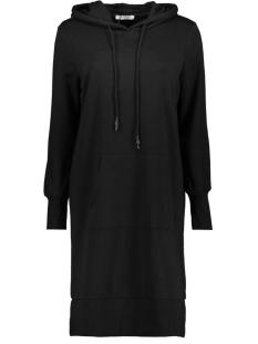 Pieces Jurk PCKIBA LS HOODIE DRESS BF 17102316 Black