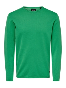 Only & Sons Trui ONSGARSON 12  WASH CREW NECK KNIT NOOS 22006806 Medium Green