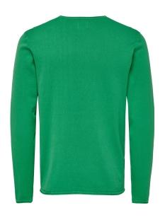 onsgarson 12  wash crew neck knit noos 22006806 only & sons trui medium green