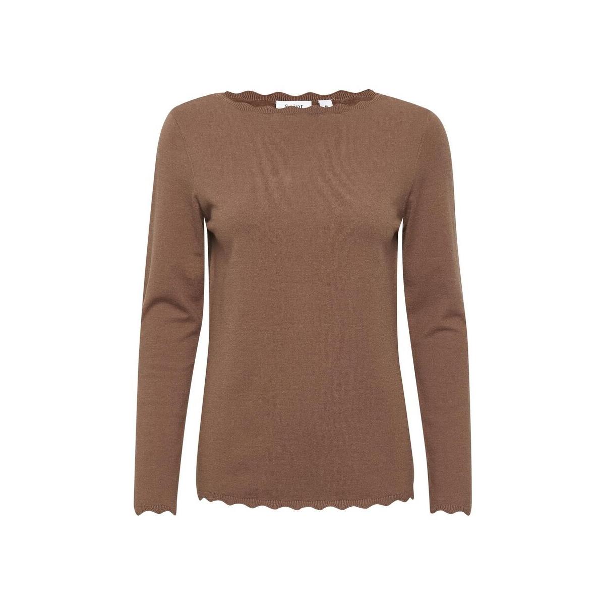 knitted blouse l s u2522 30501521 saint tropez trui 181030 thrush