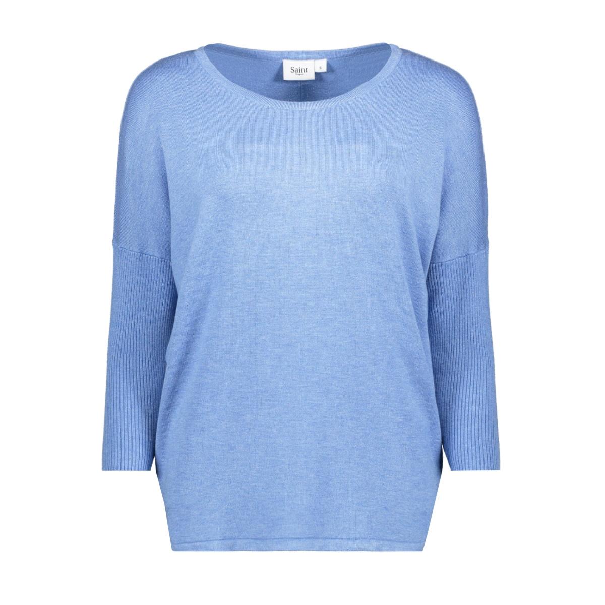 knit blouse w rib sl a2561 30500003 saint tropez trui 1740301