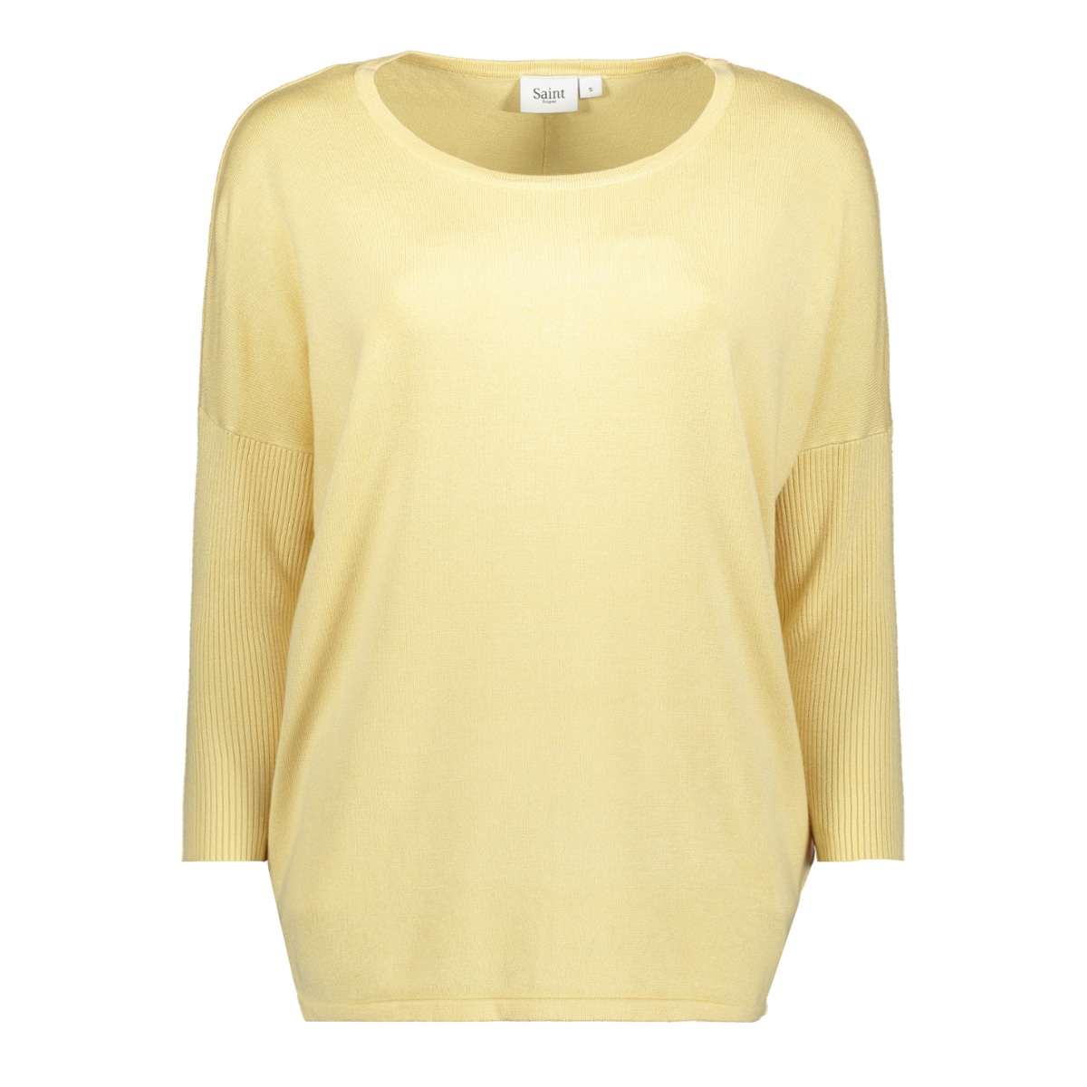 knit blouse w rib sl 30500003 saint tropez trui 2127