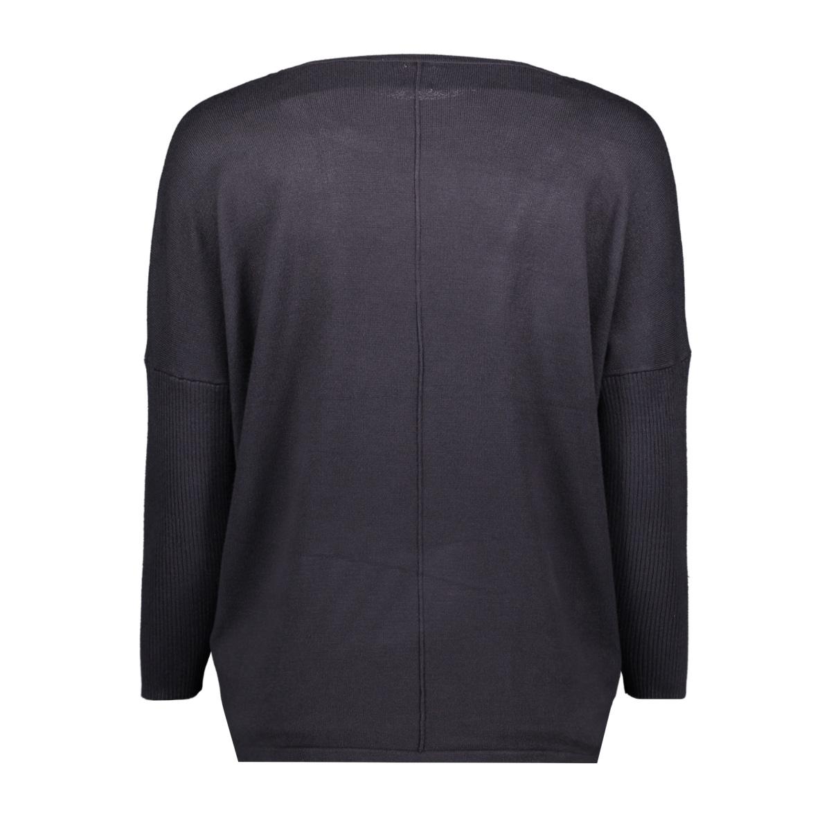 knit blouse w rib sl a2561 saint tropez trui 9069