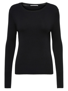 Only Trui ONLVENICE L/S O-NECK PULLOVER KNT 15183774 Black