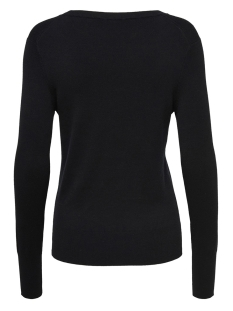 onlvenice l/s o-neck pullover knt 15183774 only trui black