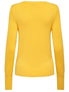 onlvenice l/s o-neck pullover knt 15183774 only trui yolk yellow