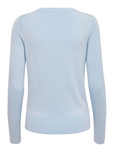 onlvenice l/s o-neck pullover knt 15183774 only trui bel air blue