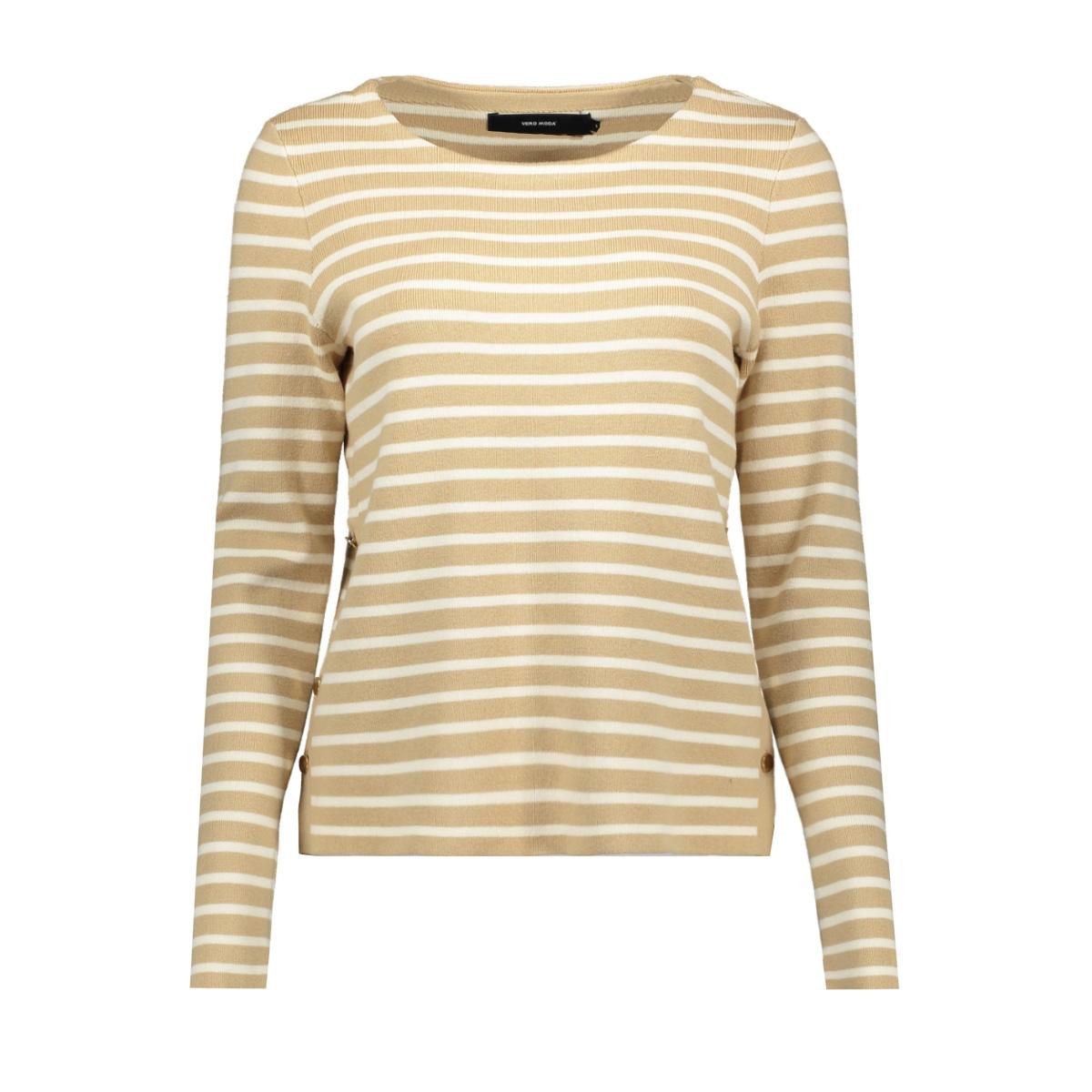 vmsailor ls stripe blouse boo 10223724 vero moda trui nomad/pristine a
