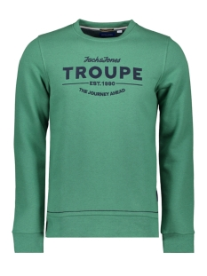 Jack & Jones sweater JORTRAVELLER SWEAT CREW NECK 12168005 Fir