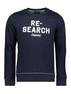 jortraveller sweat crew neck 12168005 jack & jones sweater navy blazer