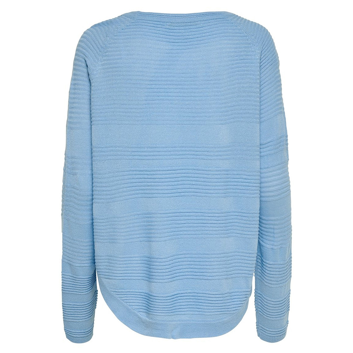 onlcaviar l/s pullover knt noos 15141866 only trui bel air blue/melange
