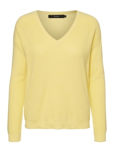 Vero Moda Trui VMLEXA LS V-NECK BLOUSE COLOR 10228187 Pale Banana