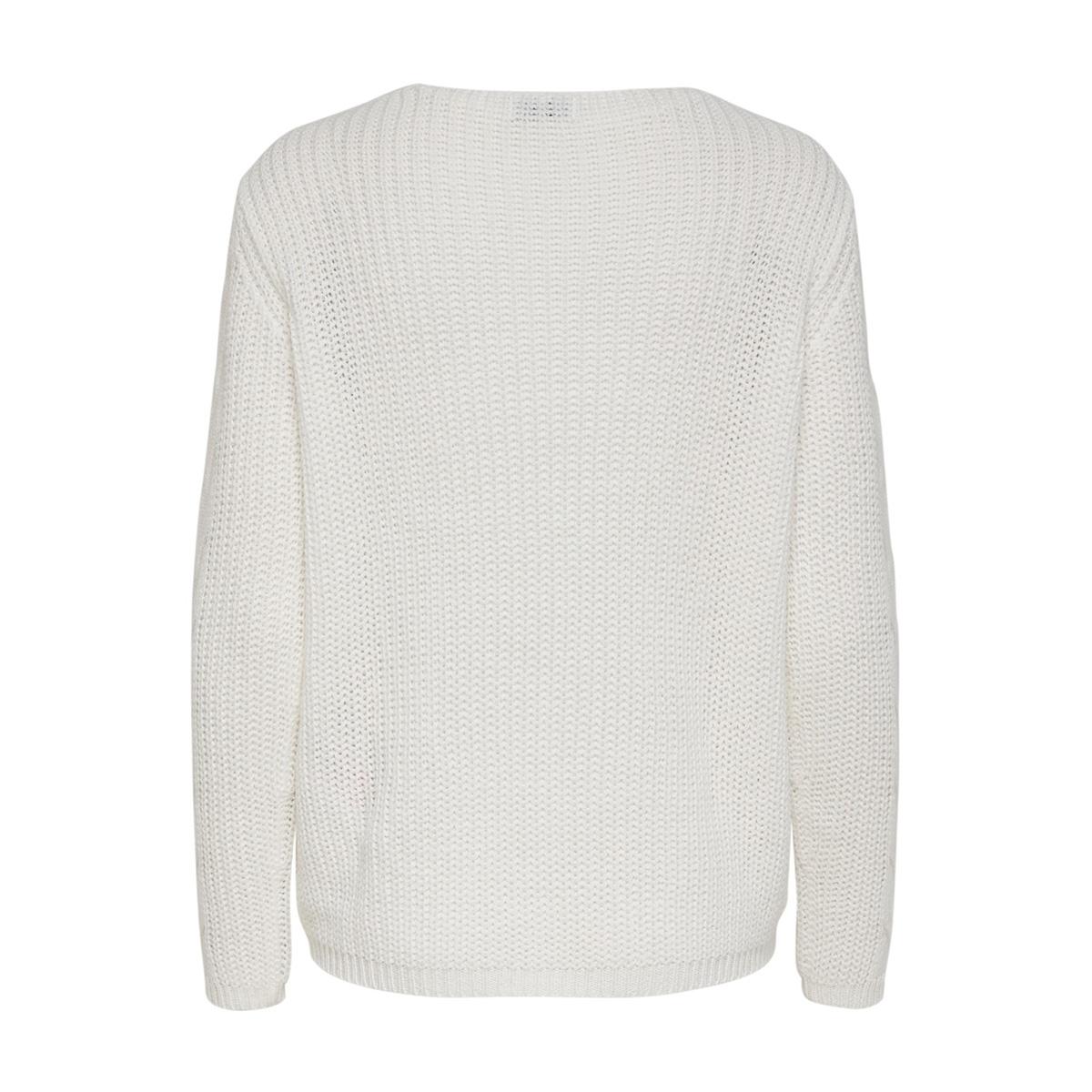 jdybella l/s pullover knt 15185575 jacqueline de yong trui cloud dancer