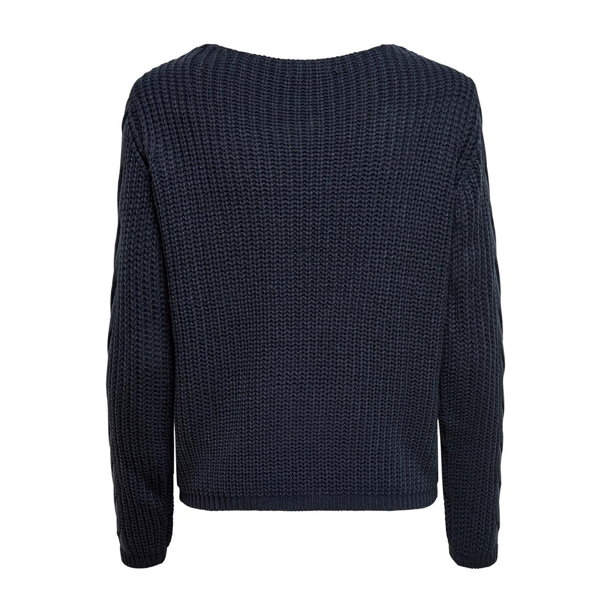 jdybella l/s pullover knt 15185575 jacqueline de yong trui navy blazer