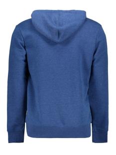 jcomarlon sweat hood 12167582 jack & jones sweater navy peony/melange