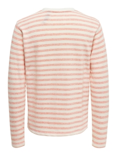 onschai sweat ce 6219 22016219 only & sons trui hot coral
