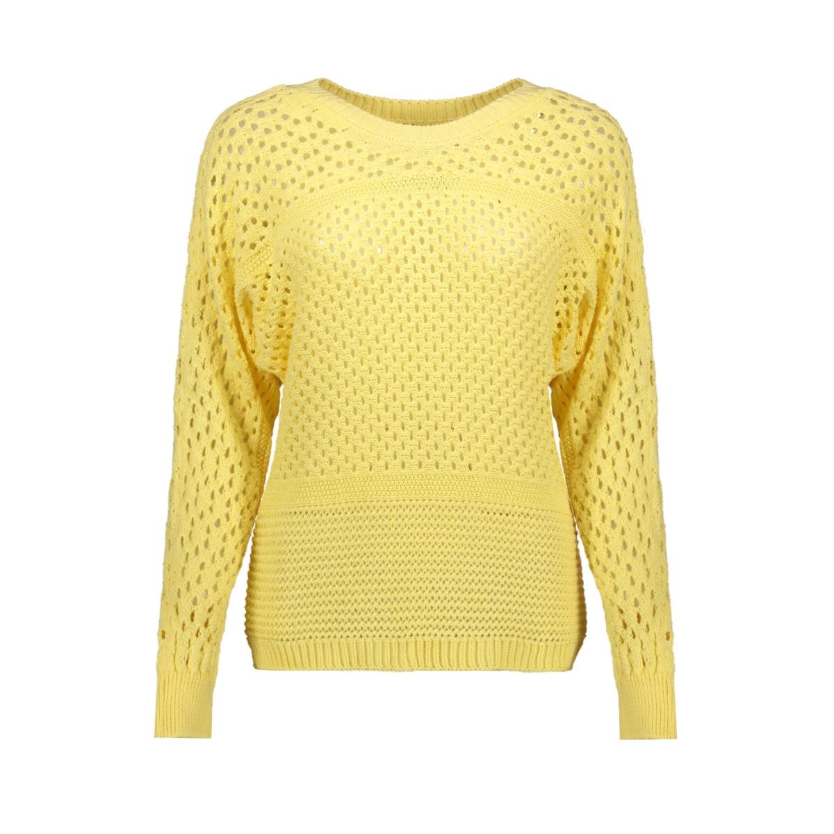 vmlima ls boatneck blouse 10224927 vero moda trui pale banana