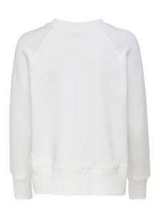jdyzilda life l/s print sweat jrs 15200616 jacqueline de yong sweater cloud dancer/city