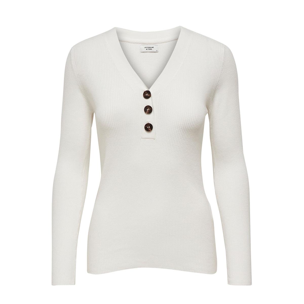 jdymelani l/s pullover knt 15195353 jacqueline de yong trui cloud dancer