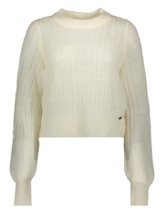nmsabby l/s o-neck knit 27011413 noisy may trui sugar swizzle