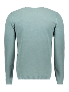 waffle pullover 90210221n no-excess sweater 049 smoke