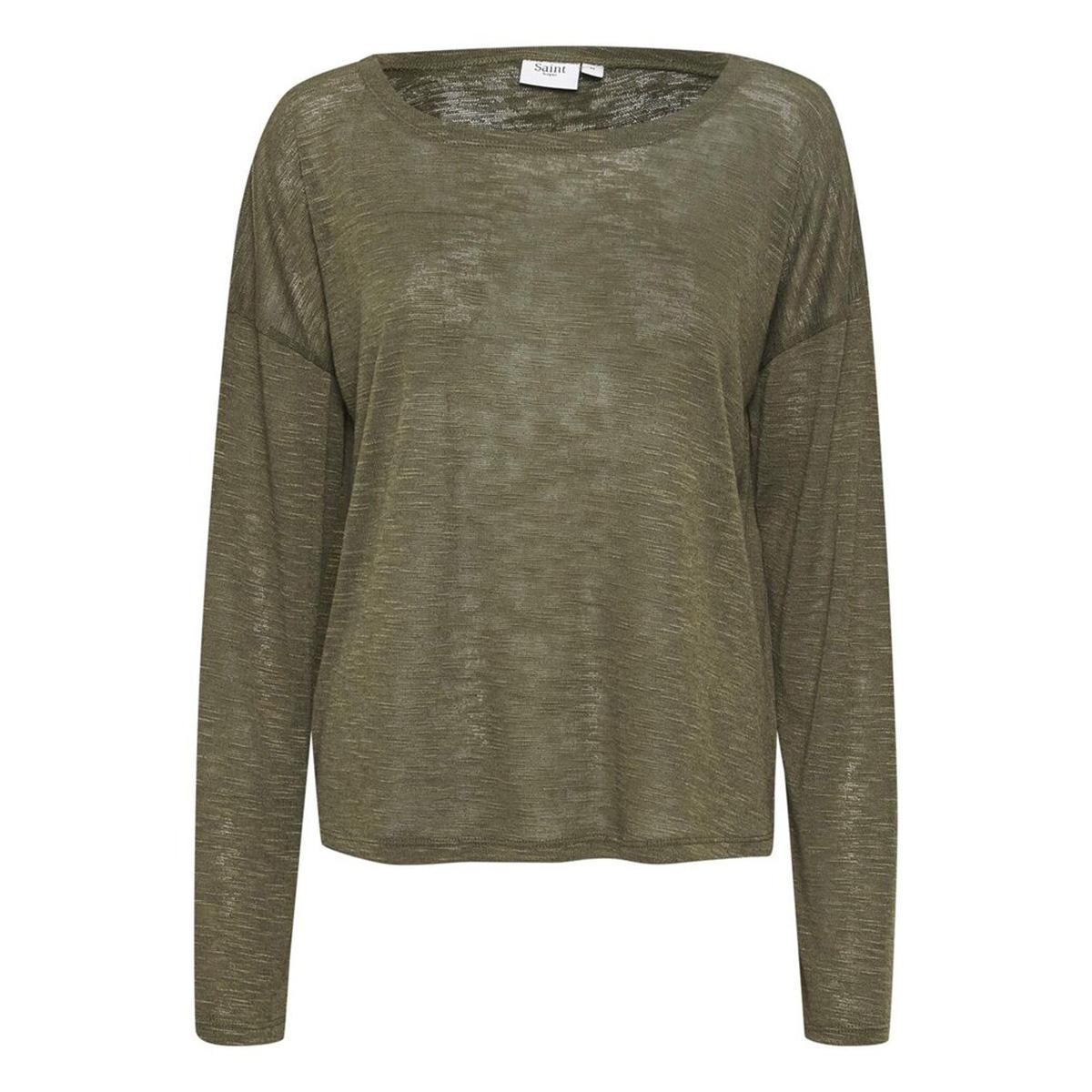 rosesz knit blouse 30510056 saint tropez t-shirt 190515 army green