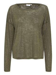 Saint Tropez T-shirt ROSESZ KNIT BLOUSE 30510056 190515 ARMY GREEN
