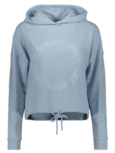 Only sweater ONLOBI L/S HOOD JRS 15205144 Cashmere Blue/SEEN NOTHING