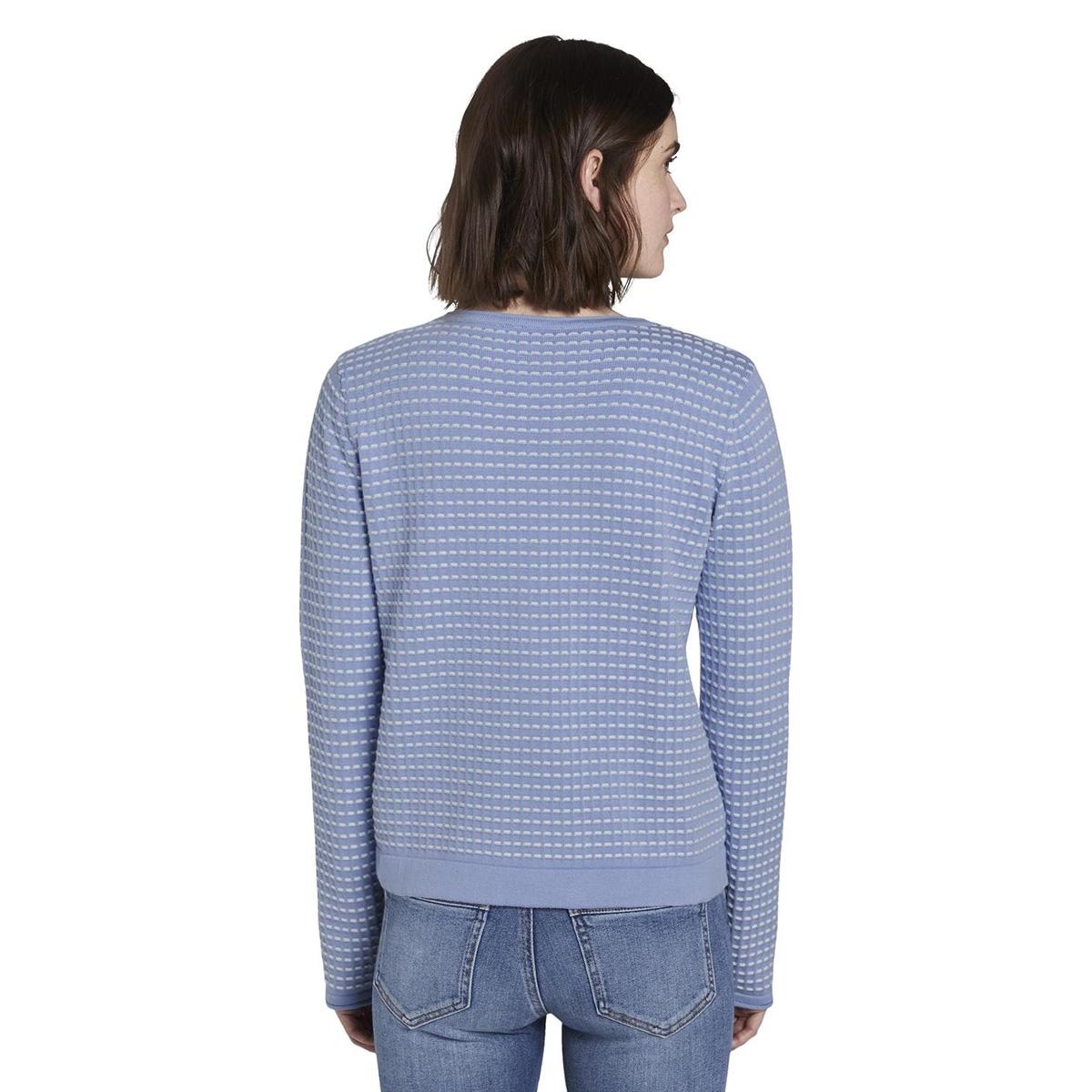 polka dot cardigan 1017842xx70 tom tailor vest 12819