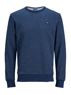 Jack & Jones sweater JORFRANKIE SWEAT CREW NECK 12168053 Navy Blazer/SLIM