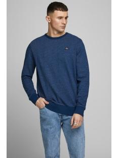jorfrankie sweat crew neck 12168053 jack & jones sweater navy blazer/slim